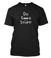 Do Good Stuff short sleeve mens shirt