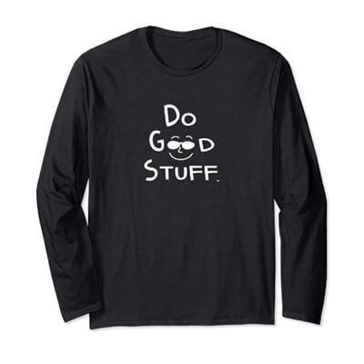 Do Good Stuff Long Sleeve Tee